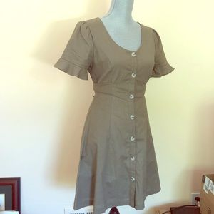 ALTAR'D STATE. Olive short sleeve dress size S